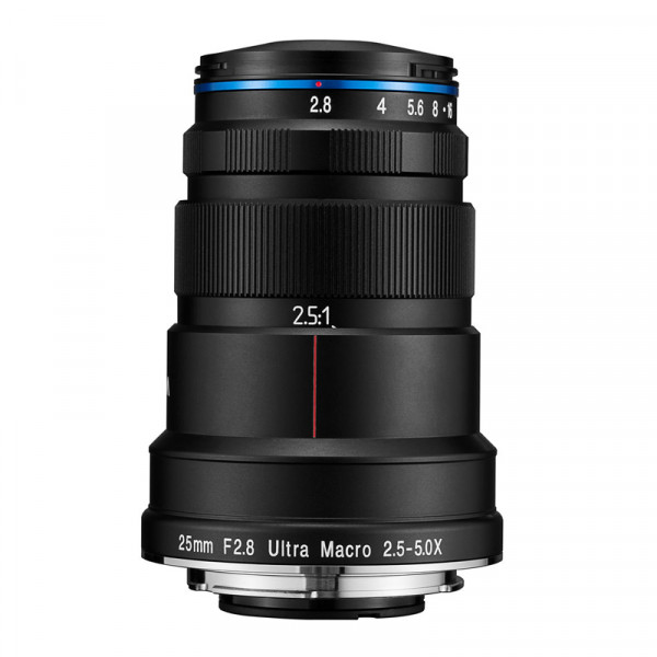 obiektyw Laowa 25/2.8 Ultra Macro (Sony E)