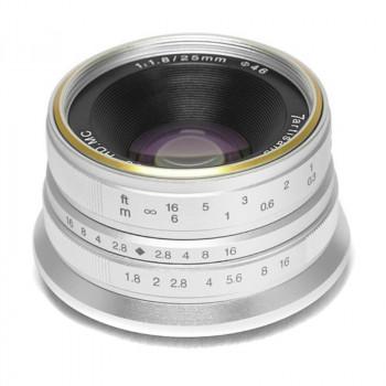 7Artisans 25/1.8 silver (Fujifilm X skup używanych obiektywów