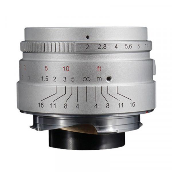 7Artisans 35/2 silver (Leica M)