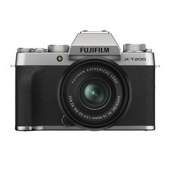 Fujifilm X-T200 + 15-45/3.5-5.6 OIS PZ Silver skup sprzętu foto za gotówkę
