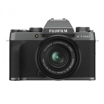 Fujifilm X-T200 + 15-45/3.5-5.6 OIS PZ Dark Silver NOWOŚĆ!