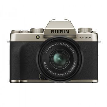 Fujifilm X-T200 + 15-45/3.5-5.6 OIS PZ Champagne Gold