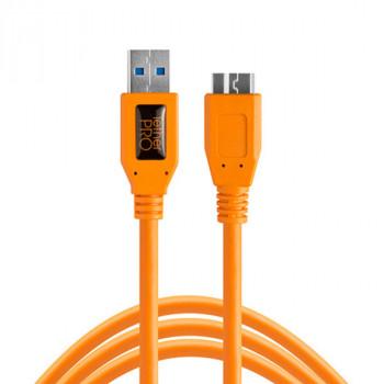 TetherPro USB 3.0 to Micro-B 4.6m ORANGE sprzęt fotograficzny w sklepie e-oko.pl