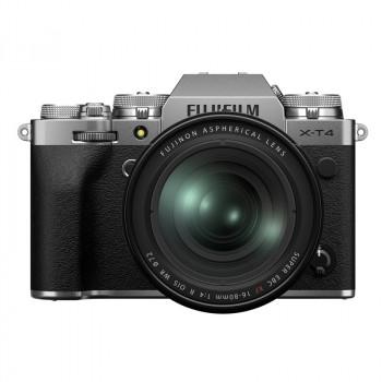 Fujifilm X-T4 + 16-80/4 R OIS WR silver
