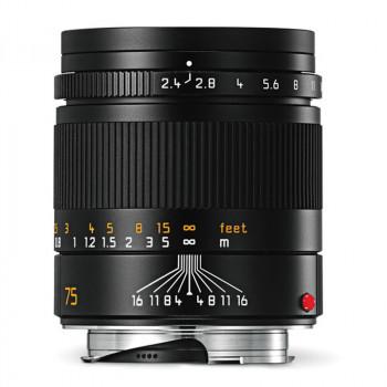 Leica 75/2.4 SUMMARIT-M Black sklep fotograficzny e-oko.pl