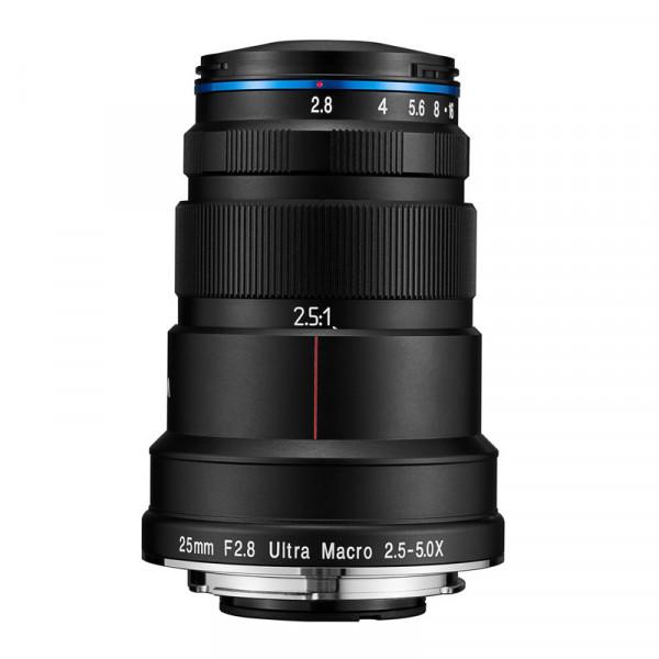 obiektyw Laowa 25/2.8 Ultra Macro (Canon RF)