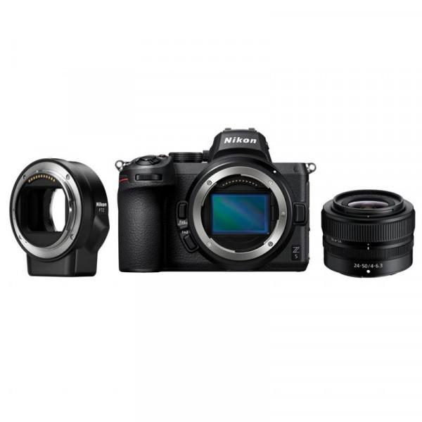 zestaw Nikon Z5 + Nikkor Z 24-50/4-6.3 + Nikon FTZ