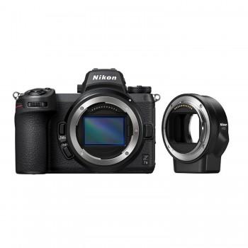 aparat fotograficzny Nikon Z7 II + Nikon FTZ