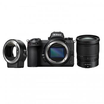 aparat fotograficzny Nikon Z7 II + Nikkor Z 24-70/4 + Nikon FTZ