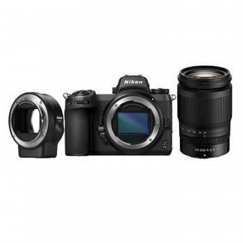 aparat fotograficzny Nikon Z6 II + Nikkor Z 24-200/4-6.3 + Nikon FTZ