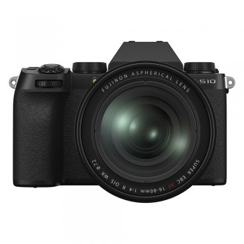 Fujifilm X-S10 + XF 16-80/4 OIS R WR