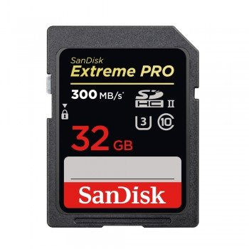 SanDisk SDHC 32 GB Extreme PRO 300 MB/s UHS-II