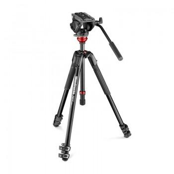 Mafrotto MVK500190XV zestaw 190 video + głowica 500AH