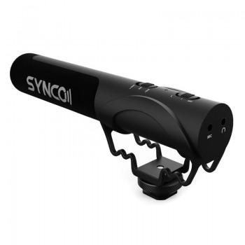 Synco mikrofon MIC-M3 nakamerowy - kardioidalny z odsłuchem