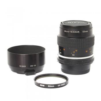 Obiektyw Nikkor 55/2.8 Micro MF