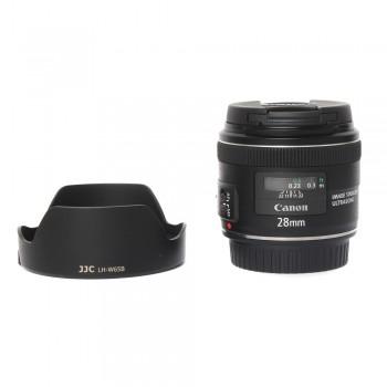 używany obiektyw Canon 28/1.8 USM + Osłona