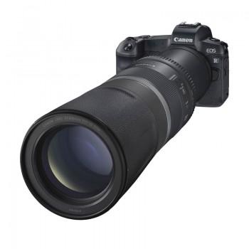 Nowy obiektyw Canon 800/11 IS STM RF Obiektyw przyrodniczy, do fotografii sportowej, portretowej