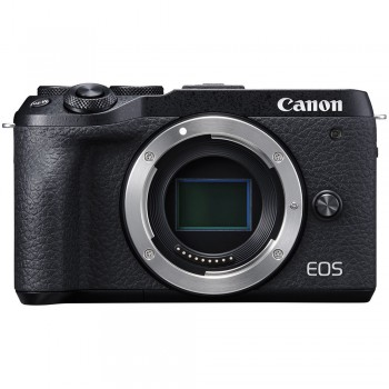 Nowy aparat  bezlusterkowy Canon EOS M6 Mark II o niepełnoklatkowej matrycy