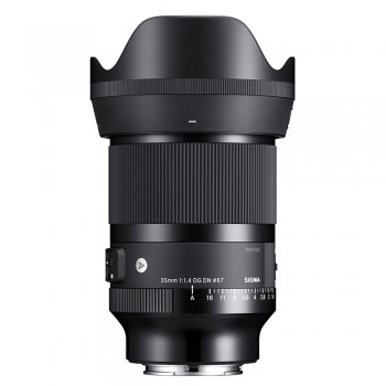 Obiektyw Sigma 35/1.4 ART DG DN (Sony E)
