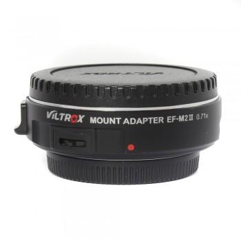 Adapter Viltrox EF-M2 II (Canon EF-MFT)
