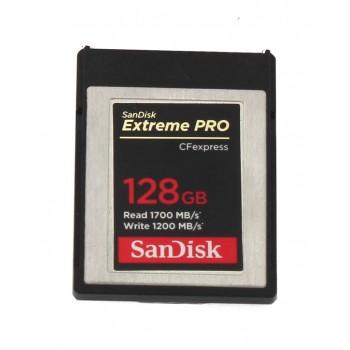 Karta Sandisk 128GB CFexpress Typ B