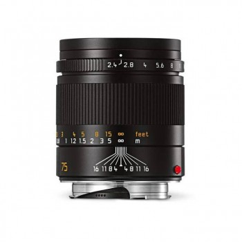 Leica 75mm f/2.4 Summarit–M Black Autoryzowany sklep Leica w Warszawie