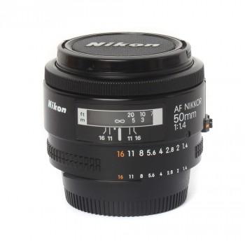 Nikkor 50mm f/1.4 AF