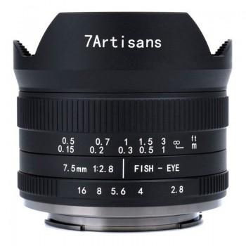 7Artisans 7.5mm f/2.8 Fisheye II (Micro 4/3)