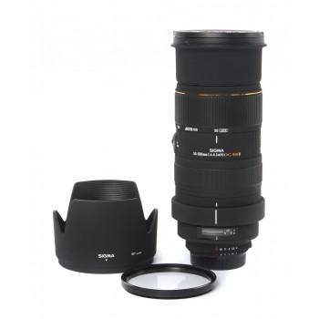 Sigma 50-500/4.5-6.3 EX DG APO (Nikon F)