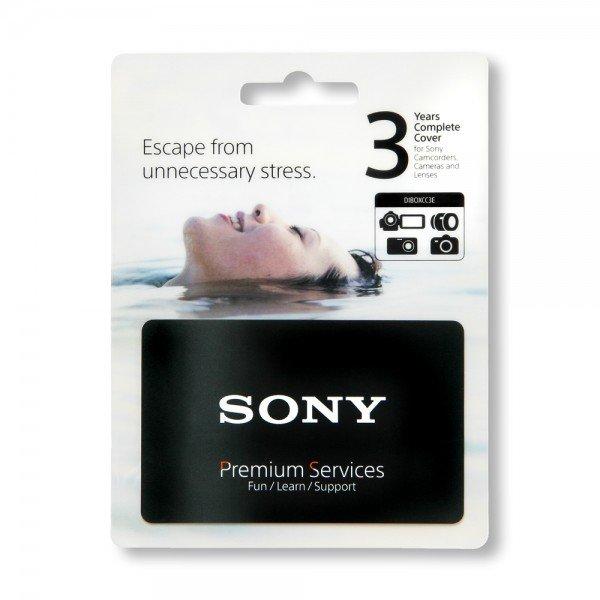 Sony 3 lata gwarancji