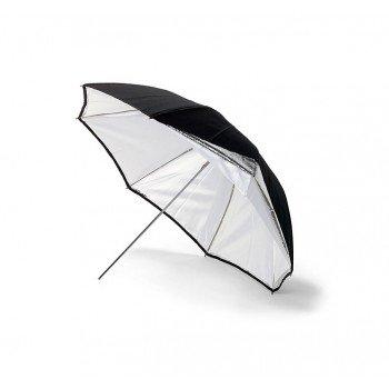 BOWENS Parasol Srebrno/Biały 90 cm [BW4036]