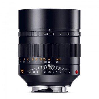 Leica 75/1.25 ASPH Noctilux-M Nowy i używany profesjonalny sprzęt fotograficzny