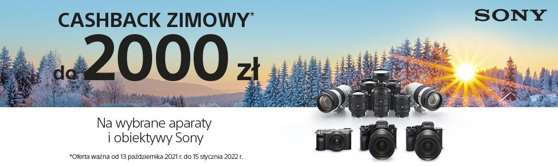 PROMOCJA SONY ZIMOWY CASHBACK 2021