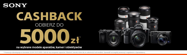 Cashback Sony sprawdź produkty objęte promocją