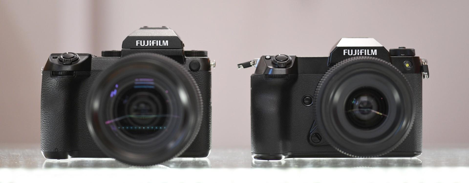 Fujifilm GFX 50S II vs GFX 50S - porównanie i pierwsze wrażenia