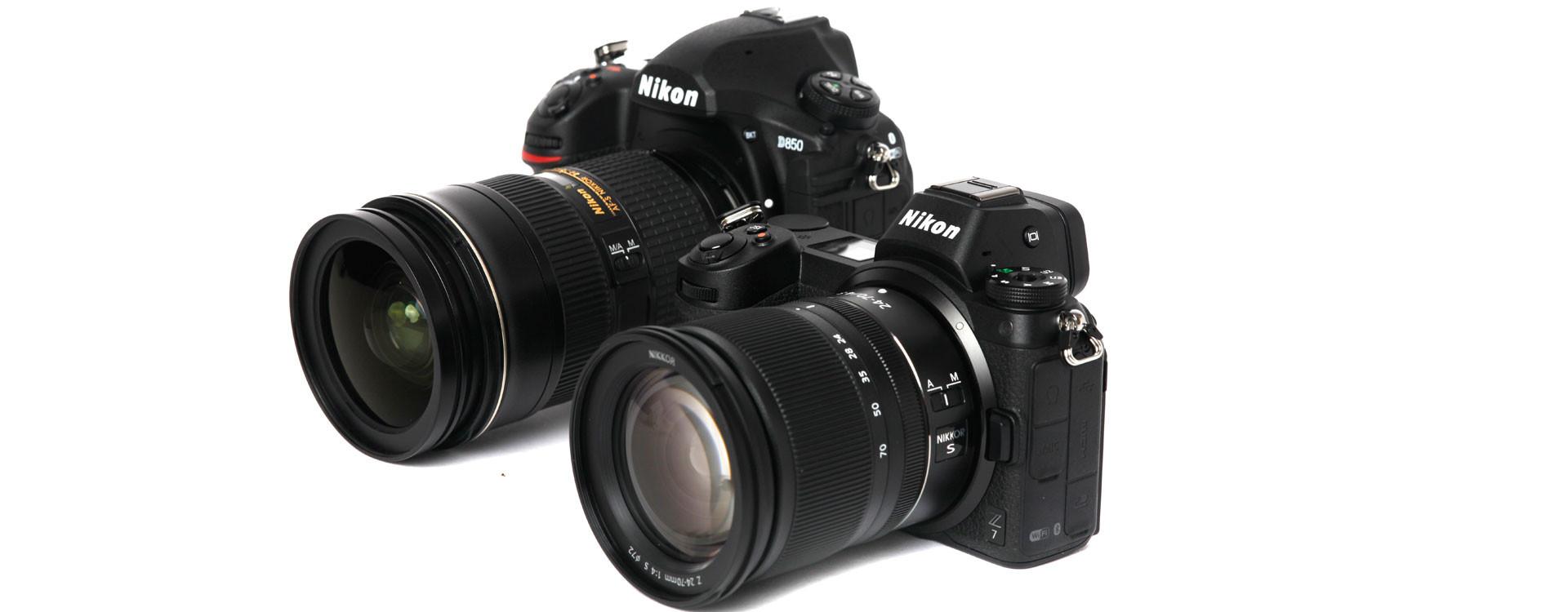 Lustrzanka czy bezlusterkowiec? Nikon D850 vs Nikon Z7