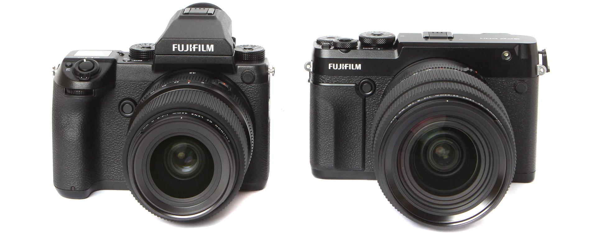 Fujifilm GFX 50r vs Fujifilm GFX 50s
